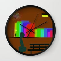30 rock Wall Clocks featuring cool sketch 30 by Cool-Sketch-Len