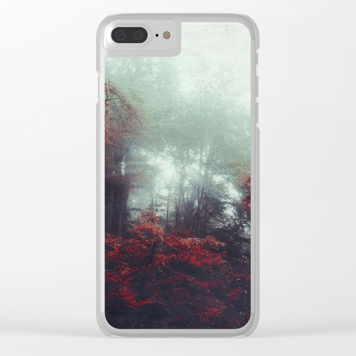 Barrier - enchanted forest Clear iPhone Case