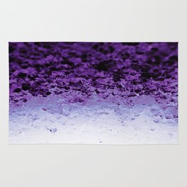 Purple Crystal Ombre Rug