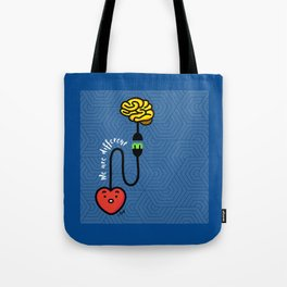 QUESTIONABLE MIND Tote Bag