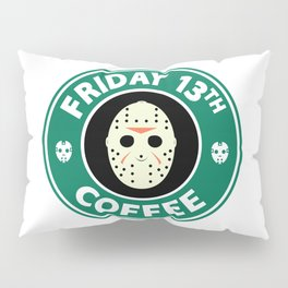 Friday The 13th Coffee Pillow Sham