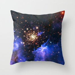 Star Forming Nebula Throw Pillow
