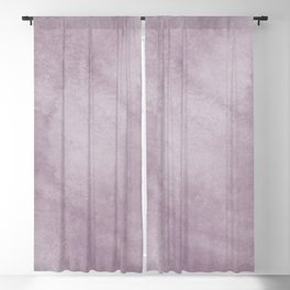 Clouds of grey violet Blackout Curtain