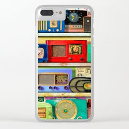 The Golden Age of Radio Clear iPhone Case