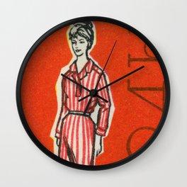 Fashion ´65 # 6 Wall Clock