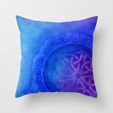 Symbols in the deep Throw Pillow