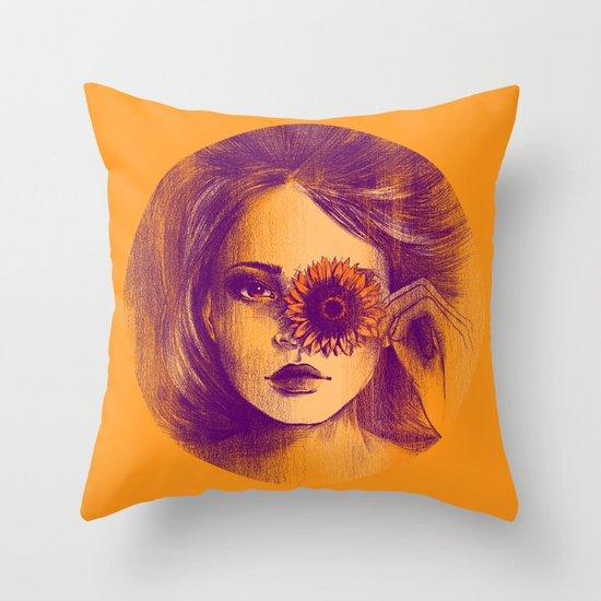 AMAR-ELO Throw Pillow