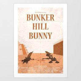 Bunker Hill Bunny Art Print