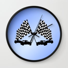 Race Cars Wall Clock