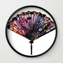 Fan Of Japan Wall Clock