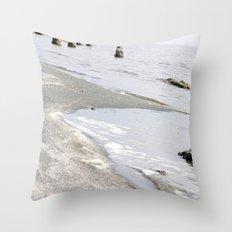 long time passing. Throw Pillow