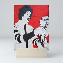 One Angry Clown Mini Art Print