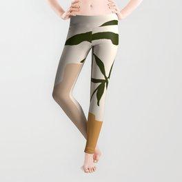 GIOIA DEI FIORI - the joy of flowers - Modern abstract art illustration Leggings
