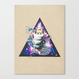 Slowbro Galaxy Canvas Print