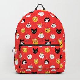 Christmas Kitties Backpack