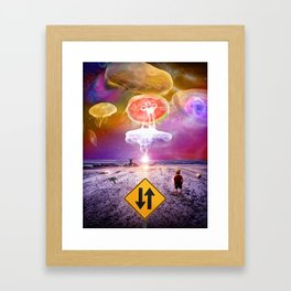 The Day of the Jellies Framed Art Print