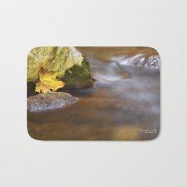 Trapped Leaf Bath Mat