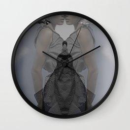 Kaleidoskop s/w 1 Wall Clock