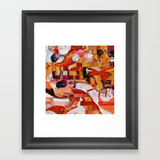 Spooning de Kooning (Provenance Series) Framed Art Print