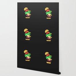 Extreme Burger Making Wallpaper