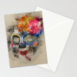 Watercolour Mask Stationery Cards