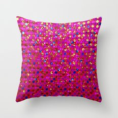Polkadots Jewels G216 Throw Pillow