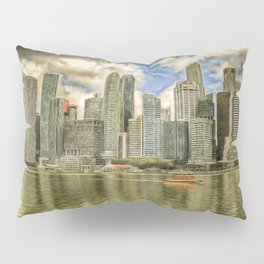 Singapore Marina Bay Sands Art Pillow Sham