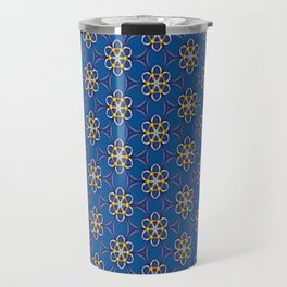 Galactic Flowers Travel Mug
