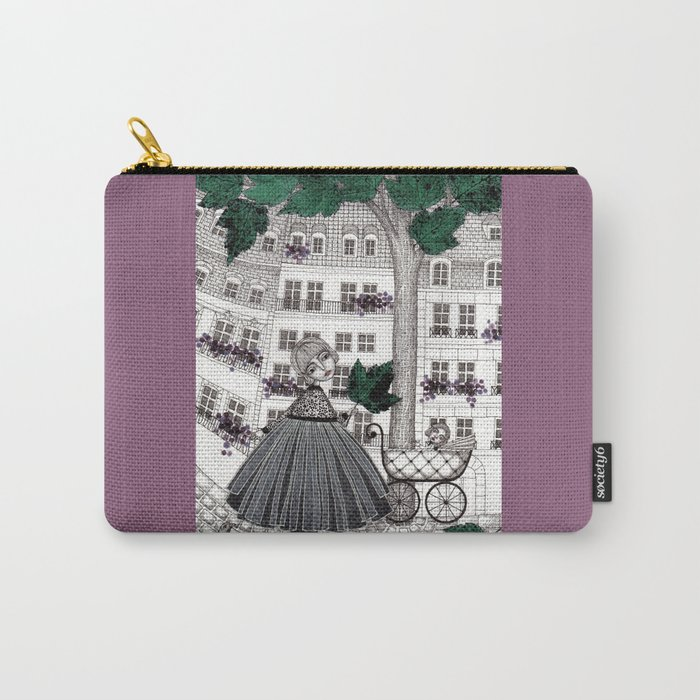 Hadessah's Leaf Carry-All Pouch