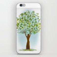 Life tree iPhone & iPod Skin