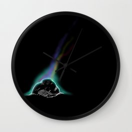 Color out of space Wall Clock