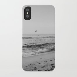 HALF MOON BAY VI (B+W) iPhone Case