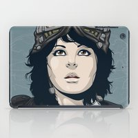 pilot iPad Cases featuring Pilot by Kimball Gray