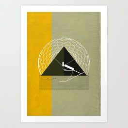 Great Pyramid of Giza Art Print