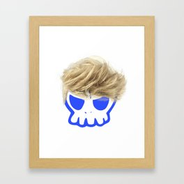 Willy the Wig Framed Art Print