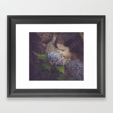 Hurry Up Spring Framed Art Print