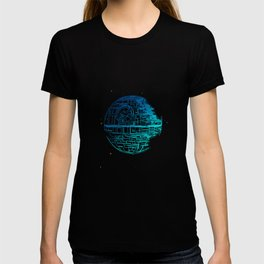 Death Star Blueprint. T-shirt
