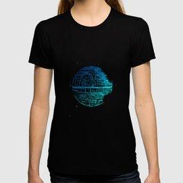 Death Star Blueprint. T-shirt