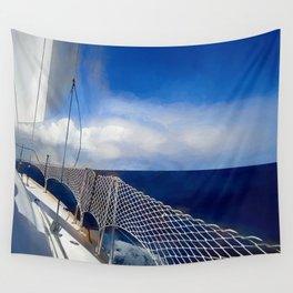 I am sailing Wall Tapestry