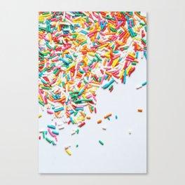 Sprinkles Party II Canvas Print