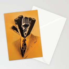 Mr. Microphone Stationery Cards