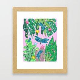 Fantasy Botanical #3 Framed Art Print