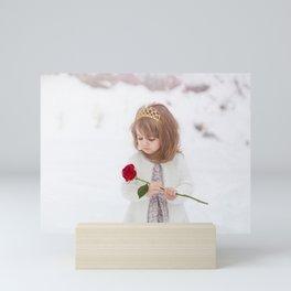 Snow Princess Mini Art Print