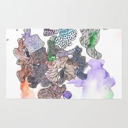 170321 Spring Watercolour 7| Micron Pen Drawing Rug