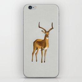 Money antelope iPhone Skin