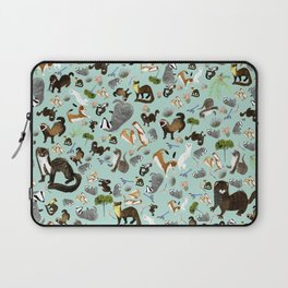 Mustelids from Spain pattern Laptop Sleeve