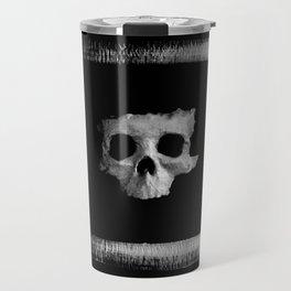 Skull square designed by FEartwork Travel Mug