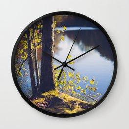 Solitude Lake Wall Clock