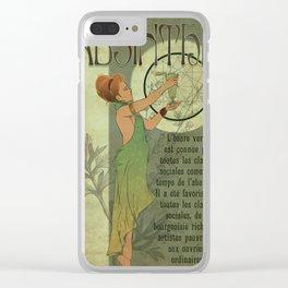Absinthe Clear iPhone Case