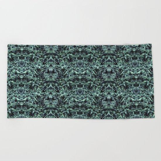 firs & foxes Beach Towel